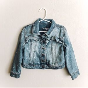 Cat & Jack Blue Jean Jacket